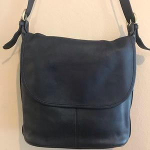 Coach vintage Whitney 4115 lightweight navy bag
